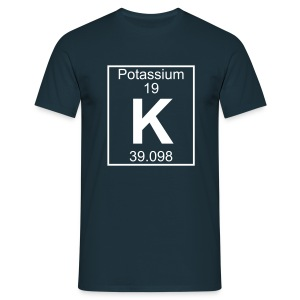 Potassium (K) (element 19) - Full 1 col Shirt - Men's T-Shirt
