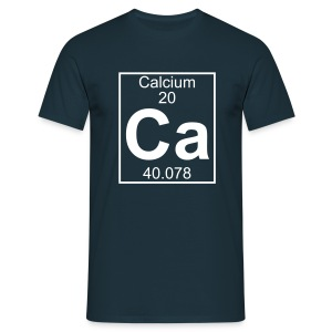 Calcium (Ca) (element 20) - Full 1 col Shirt - Men's T-Shirt