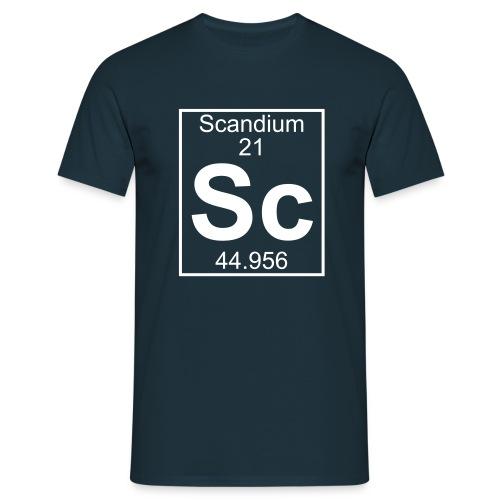 Scandium (Sc) (element 21) - Full 1 col Shirt - Men's T-Shirt