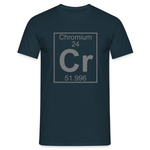 Chromium (Cr) (element 24) - Full 1 col Shirt - Men's T-Shirt