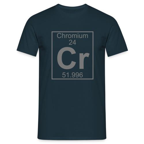 Chromium (Cr) (element 24) - Full 1 col Shirt - Men's T-Shirt