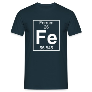 Ferrum (Fe) (element 26) - Full 1 col Shirt - Men's T-Shirt