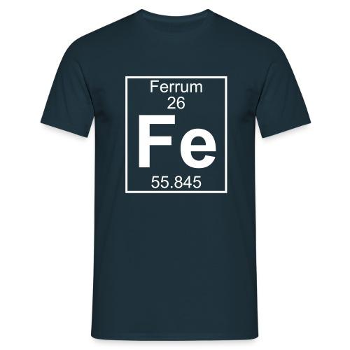 Ferrum (Fe) (element 26) - Full 1 col Shirt - Men's T-Shirt