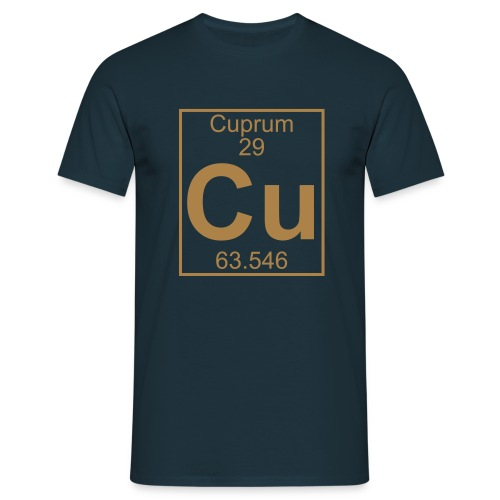 Cuprum (Cu) (element 29) - Full 1 col Shirt - Men's T-Shirt
