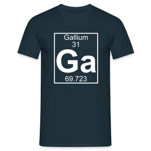 Gallium (Ga) (element 31) - Full 1 col Shirt - Men's T-Shirt