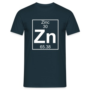 Zinc (Zn) (element 30) - Full 1 col Shirt - Men's T-Shirt