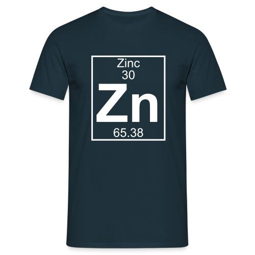 Zinc (Zn) (element 30) - Full 1 col Shirt - Men's T-Shirt