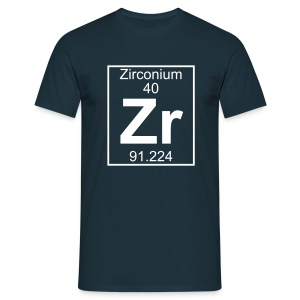 Zirconium (Zr) (element 40) - Full 1 col Shirt - Men's T-Shirt