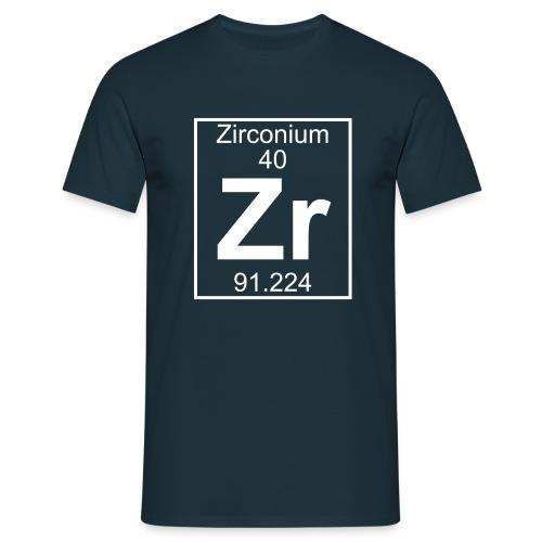 Zirconium (Zr) (element 40) - Full 1 col Shirt - Men's T-Shirt