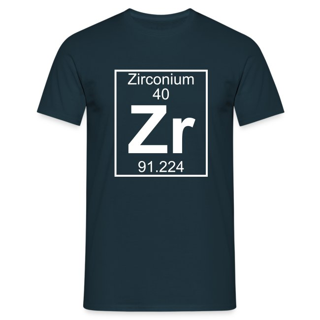 Periodic table words zirconium zr element 40 full 1 col zirconium zr element 40 full 1 col shirt urtaz Image collections