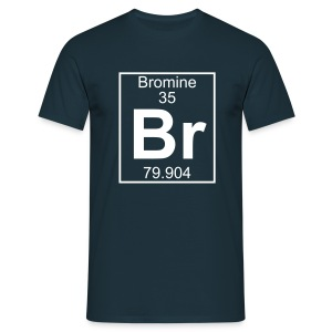 Bromine (Br) (element 35) - Full 1 col Shirt - Men's T-Shirt