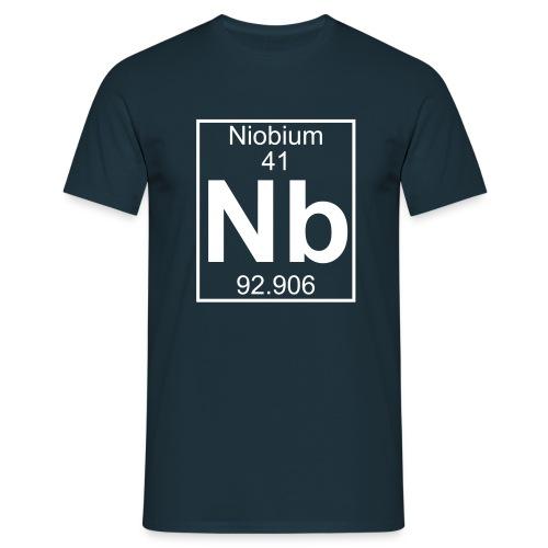 Niobium (Nb) (element 41) - Full 1 col Shirt - Men's T-Shirt