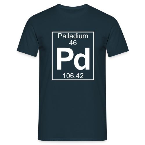 Palladium (Pd) (element 46) - Full 1 col Shirt - Men's T-Shirt