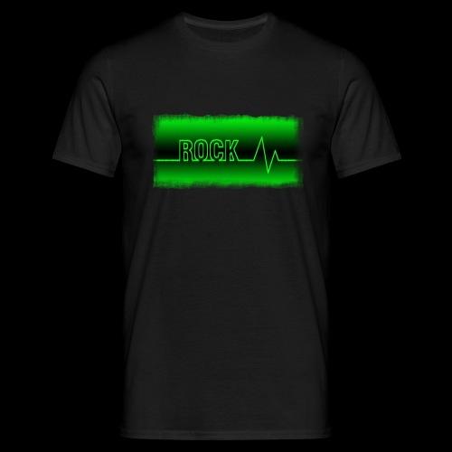 Rock Heart - Männer T-Shirt