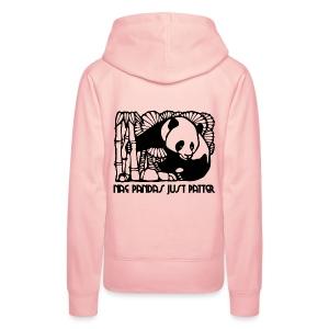 Nae Pandas Just Patter - Women's Premium Hoodie