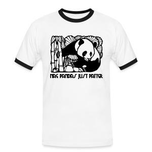 Nae Pandas Just Patter - Men's Ringer Shirt