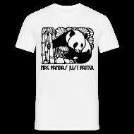 T-Shirts ~ Men's T-Shirt ~ Nae Pandas Just Patter