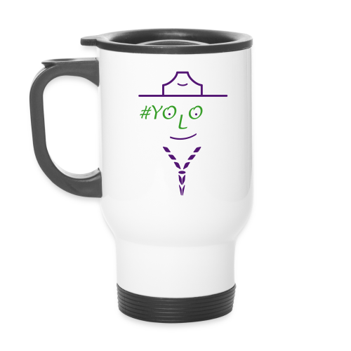 live once - be scout - Travel Mug