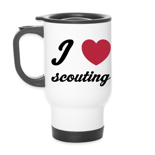 I love scouting - Travel Mug