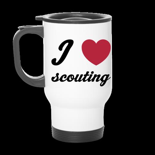 I love scouting - name tag - Travel Mug