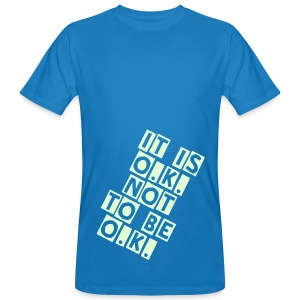 O.K. (GLOW IN THE DARK) - Men's Organic T-shirt