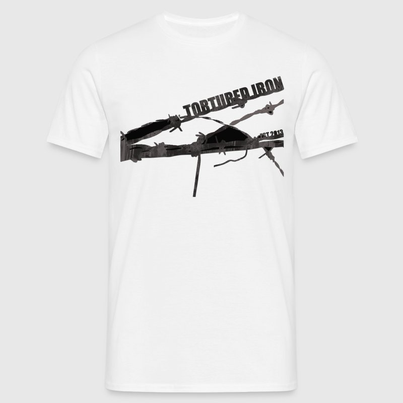 Barbed wire logo t shirt spreadshirt