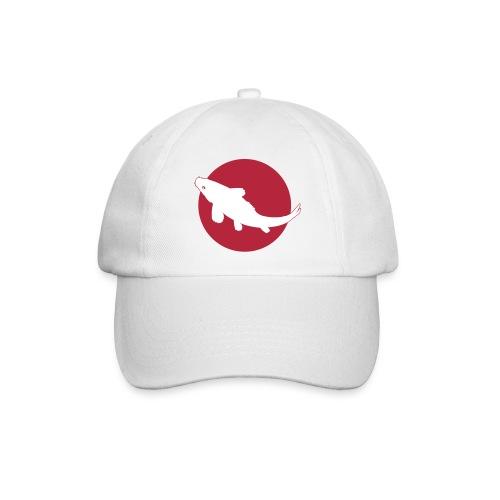 Casquette Carpe Koï sur drapeau Japon - Baseball Cap