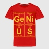 Ge-Ni-U-S (genius) - BIG Skjorter - Premium T-skjorte for barn