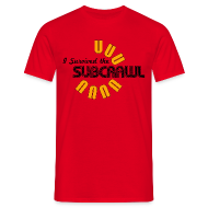 T-Shirts ~ Men's T-Shirt ~ I Survived the Subcrawl