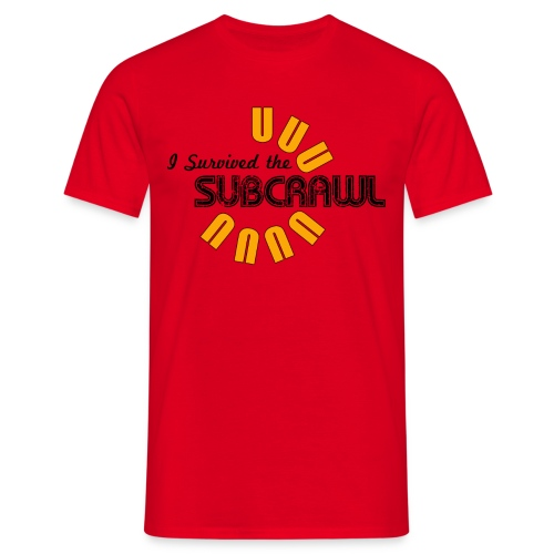 I Survived the Subcrawl - Men's T-Shirt