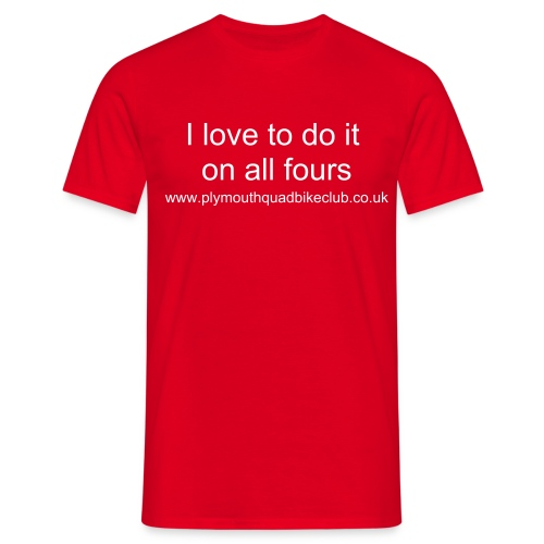 All Fours - Men's T-Shirt