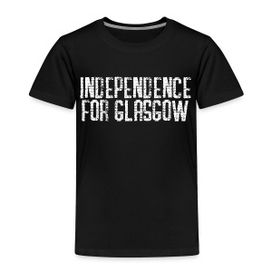 Independence for Glasgow - Kids' Premium T-Shirt