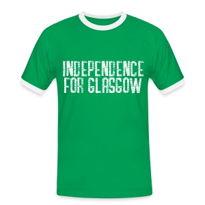 Independence for Glasgow - Men's Ringer Shirt