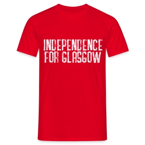 Independence for Glasgow - Men's T-Shirt