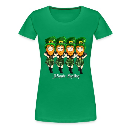Mini-Kriss - Irlandais - femme MP - T-shirt Premium Femme