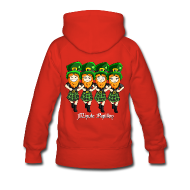 Sweat-shirts ~ Sweat-shirt à capuche Premium pour femmes ~ Mini-Kriss - Irlandais - Sweat femme