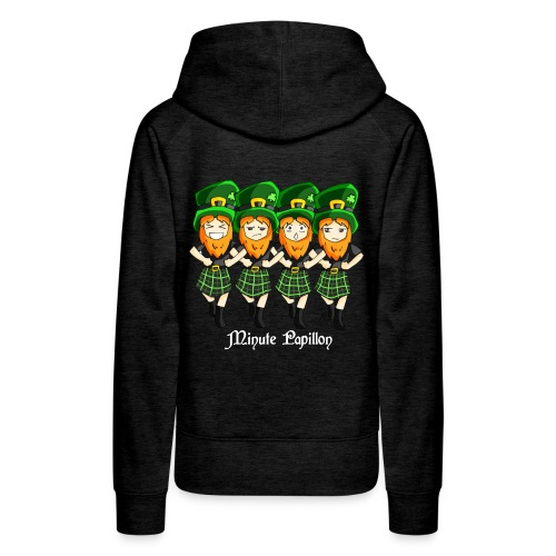 Mini-Kriss - Irlandais - Sweat femme - Sweat-shirt à capuche Premium pour femmes