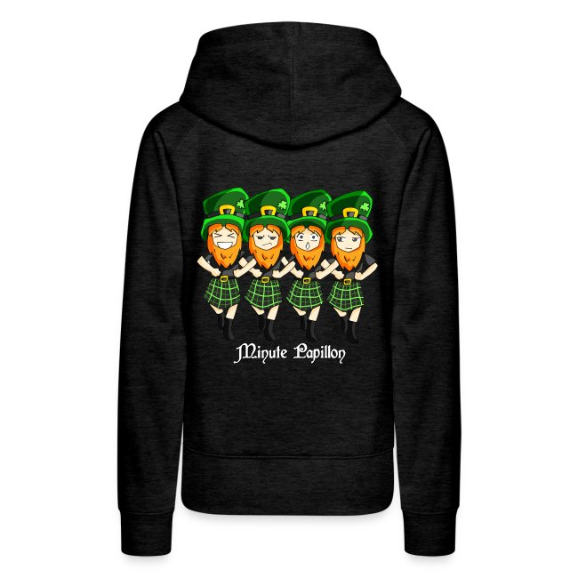 Mini-Kriss - Irlandais - Sweat femme