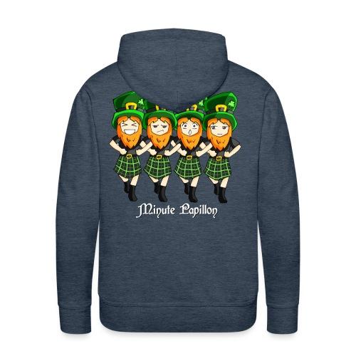 Mini-Kriss - Irlandais - Sweat homme - Sweat-shirt à capuche Premium pour hommes