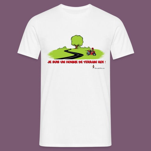 T-shirt Moto Sortie Route - T-shirt Homme