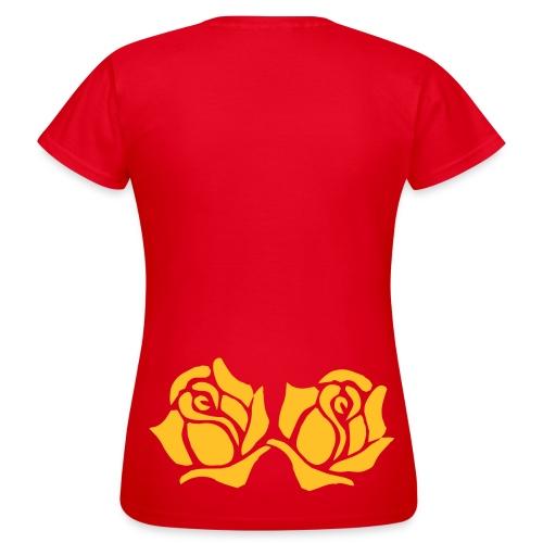 Rosen, Roses - Frauen T-Shirt