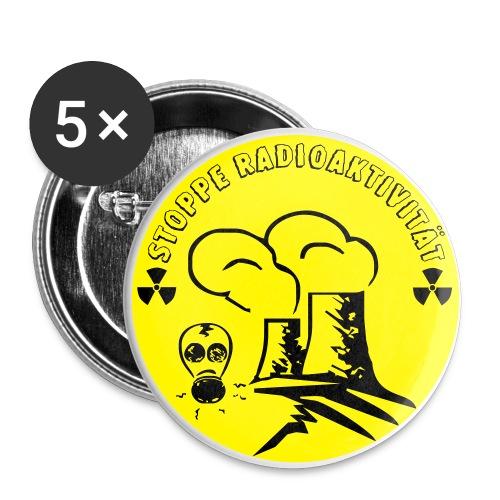 Radioaktiv - Buttons mittel 32 mm
