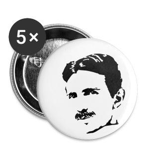 Nikola Tesla - Badge petit 25 mm
