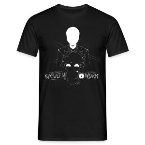 Kapuzenwurm Slenderman! - Männer T-Shirt