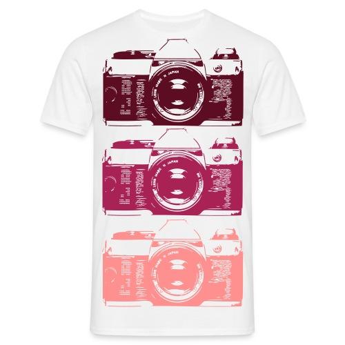 Retro Kamera T-Shirts - Männer T-Shirt