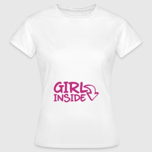 Girl Inside T-Shirts - Frauen T-Shirt