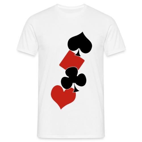 POKER-001 - T-shirt Homme