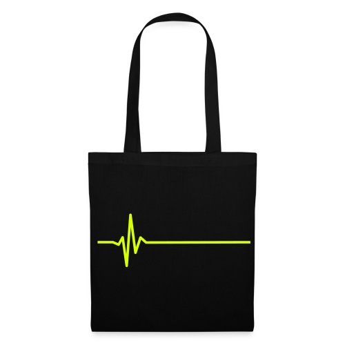 heart monitor yellow - Tote Bag