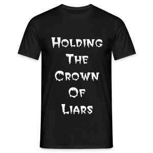 The Heart Of It All - Crown Of Liars Black - Männer T-Shirt