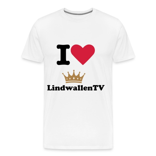 T-shirt with LindwallenTV  - Premium-T-shirt herr